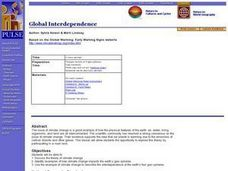 World Geography: Global Interdependence Lesson Plan
