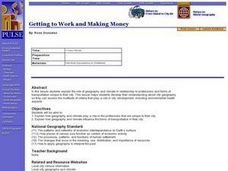 Getting to Work and Making Money Lesson Plan