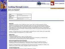 Looking Through Lenses Lesson Plan