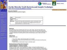 On the Microbe Trail: Bacteria and Aseptic Technique Lesson Plan