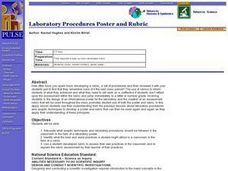 Laboratory Procedures Poster and Rubric Lesson Plan