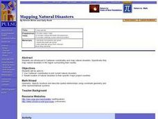 Mapping Natural Disasters Lesson Plan