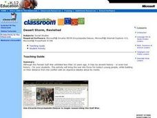 Desert Storm, Revisited Lesson Plan