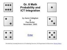 Probability and ICT Integration Lesson Plan