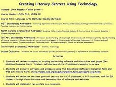 Creating Literacy Centers Using Technology Lesson Plan