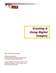 Creating And Using Digital Imagery Lesson Plan