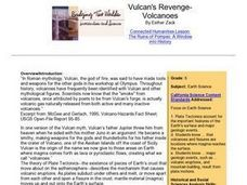 Vulcan's Revenge-Volcanoes Lesson Plan