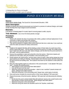 Pond Succession Mural Lesson Plan