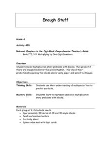Enough Stuff Lesson Plan