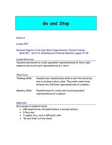 Go and Stop Lesson Plan