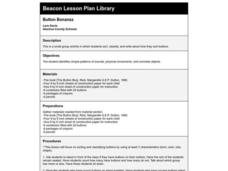 Button Bonanza Lesson Plan