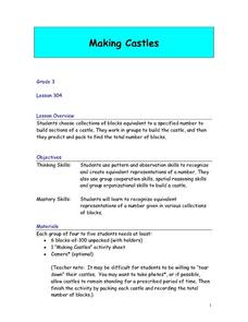 Making Castles Lesson Plan