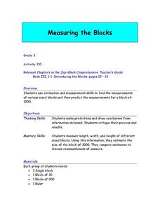 Measuring The Blocks Lesson Plan