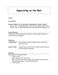 Separating On The Mat Lesson Plan