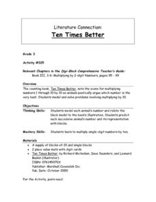 Ten TImes Better Lesson Plan