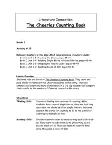 The Cheerios Counting Book Lesson Plan