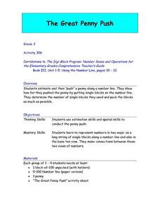 The Great Penny Push Lesson Plan