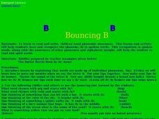Bouncing B Lesson Plan