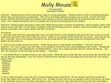 Molly Mouse Lesson Plan