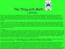 The Thing with Math? Lesson Plan