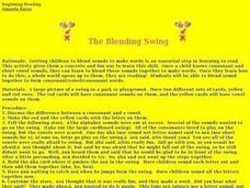 The Blending Swing Lesson Plan