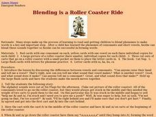Blending is a Roller Coaster Ride Lesson Plan