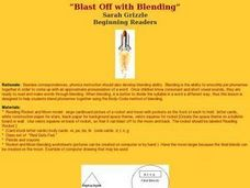 Blast Off with Blending Lesson Plan