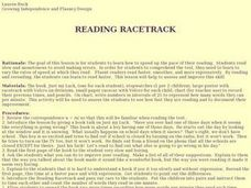 Reading Racetrack Lesson Plan