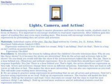 Lights, Camera, and Action! Lesson Plan