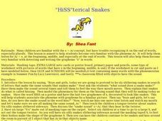 """HiSS""terical Snakes Lesson Plan"
