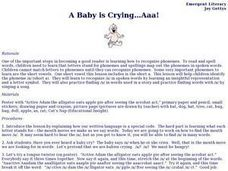 A Baby is Crying...Aaa! Lesson Plan
