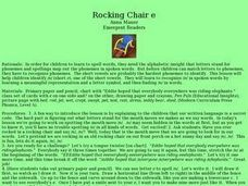 Rocking Chair Lesson Plan