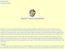 Ouch! I have a booboo Lesson Plan
