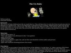 The Cry Baby Lesson Plan