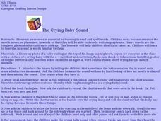 The Crying Baby Sound Lesson Plan