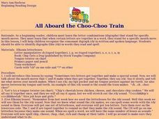 All Aboard the Choo-Choo Train Lesson Plan