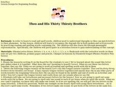 Theo and His Thirty Thirsty Brothers Lesson Plan