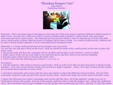 Blending Bumper Cars Lesson Plan