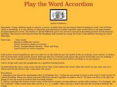 Play the Word Accordion Lesson Plan
