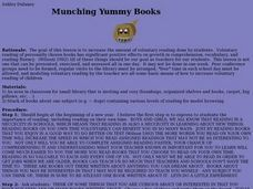 Munching Yummy Books Lesson Plan