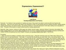 Expressions, Expressions Lesson Plan