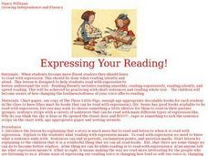 Expressing Your Reading! Lesson Plan