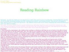 Reading Rainbow Lesson Plan