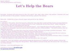 Let's Help the Bears Lesson Plan