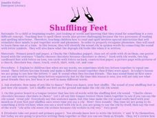 Shuffling Feet Lesson Plan