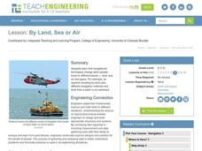 By Land, Sea or Air Lesson Plan