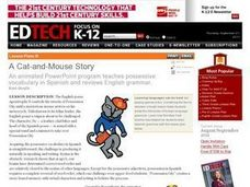 A Cat-and-Mouse Story Lesson Plan