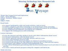 Bon Voyage: Travel and Exploration Lesson Plan
