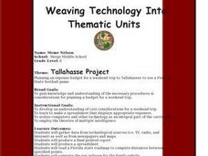 Tallahassee Project Lesson Plan