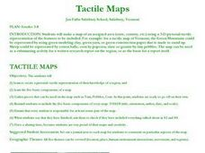 Tactile Maps Lesson Plan